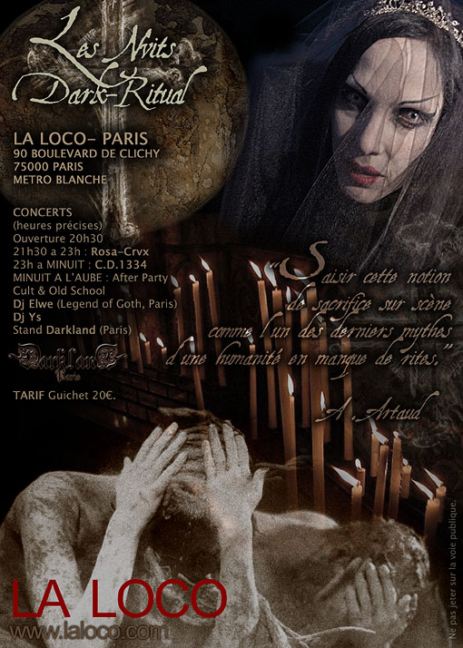29/11/07 NUIT DARK RITUAL: Christian Death 1334 + Rosa Crvx Darkritual%204